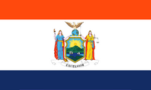 New York State Flag Proposal Designed By S R Barlow 29 SEP 2014 at 0647hrs cst