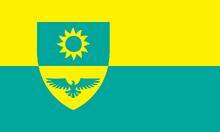 Flag of Apollo Hawkridge (CoA)
