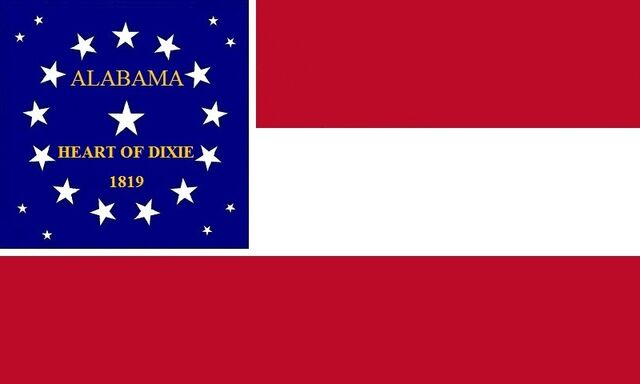 File:Alabama State Flag Proposal Stars and Bars HEART OF DIXIE 1819 Designed By Stephen Richard Barlow 07192014.jpg