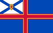 Nova Scotia Province Canada Flag Proposal No 2 By Stephen Richard Barlow 20 SEP 2014 at 1201hrs cst
