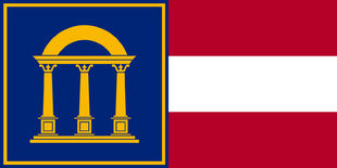 US-GA flag proposal Achaley