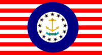 Rhode Island State Flag Proposal No 1 Designed By Stephen Richard Barlow 14 AuG 2014 at 1405hrs cst