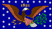 Missouri State Flag Proposal No 1 Designed By Stephen Richard Barlow 23 OCT 2014 at 1320hrs cst