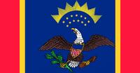 North Dakota State Flag Proposal No 5 Designed By Stephen Richard Barlow 20 AuG 2014 at 1654hrs cst