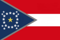Alabama State Flag Proposal New Stars and Bars Constellation (F) Designed By Stephen Richard Barlow 12 NOV 2014 at 1104 hrs cst.png