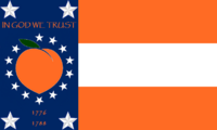 Georgia State Flag Proposal No 30 Designed By Stephen Richard Barlow 28 AuG 2014 at 1122hrs cst