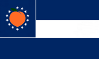 Georgia State Flag Proposal No 21 Designed By Stephen Richard Barlow 28 AuG 2014 at 0935hrs cst