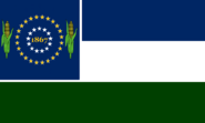 Nebraska State Flag Proposal No 16 Designed By Stephen Richard Barlow 22 OCT 2014 at 1040hrs cst