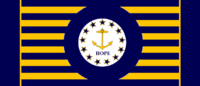 Rhode Island State Flag Proposal No 4 Designed By Stephen Richard Barlow 15 AuG 2014 at 0952hrs cst