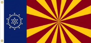 Arizona State Flag proposal No. 2 Designed By Stephen Richard Barlow 16 JAN 2015 at 1507 HRS CST.