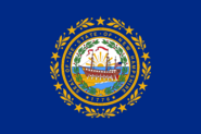 Current flag of New Hampshire