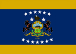 Pennsylvania State Flag Proposal No 14 Designed By Stephen Richard Barlow 01 SEP 2014 at 1716hrs cst