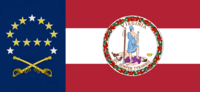Virginia State Flag Proposal No 25 Designed By Stephen Richard Barlow 19 NOV 2014 at 1333 hrs cst