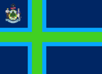 Maine State Flag Proposal No 3 Designed By Stephen Richard Barlow 27 OCT 2014 at 0150hrs cst