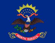 Current flag of North Dakota