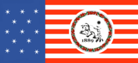Washington State Flag Proposal No 6b Designed By Stephen Richard Barlow 15 NOV 2014 at 0742 hrs cst