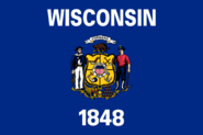Current flag of Wisconsin