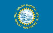 Current flag of South Dakota