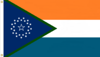 Florida State Flag Proposal No. 6f Designed By Stephen Richard Barlow 15 JAN 2015 at 0916 HRS CST.