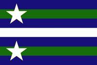 Alternate Michigan State Flag 1B