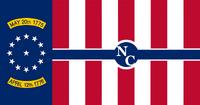North Carolina State Flag Proposal No 7 Designed By Stephen Richard Barlow 05 SEP 2014 at 1244hrs cst