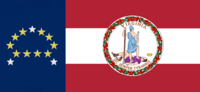 Virginia State Flag Proposal No 26 Designed By Stephen Richard Barlow 19 NOV 2014 at 1335 hrs cst