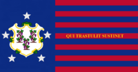 Connecticute State Flag Proposal No 4 Designed By Stephen Richard Barlow 16 AuG 2014 at 0959hrs cst