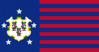 Connecticute State Flag Proposal No 3 Designed By Stephen Richard Barlow 16 AuG 2014 at 0945hrs cst