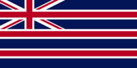 13 stripes hawaii flag