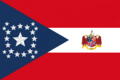 Alabama State Flag Proposal New Stars and Bars Contellation Designed By Stephen Richard Barlow 10 NOV 2014 at 1127 hrs cst.png