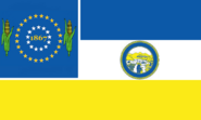 Nebraska State Flag Proposal No 19 Designed By Stephen Richard Barlow 22 OCT 2014 at 1053hrs cst
