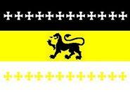 Pskov oblast flag proposal previous to 2009 1