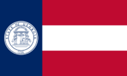 Georgia State Flag 1920-1956