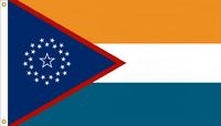 Florida State Flag Proposal No. 6d Designed By Stephen Richard Barlow 19 JAN 2015 at 1715 HRS CST.