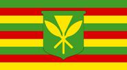 Kanaka Maoli flag