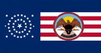 South Dakota State Flag Proposal No 6 Designed By Stephen Richard Barlow 20 AuG 2014 1913hrs