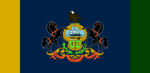 Pennsylvania State Flag Proposal No 8 By Stephen Richard Barlow 31 AuG 2014 at 1531hrs cst