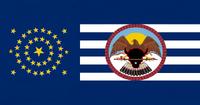 South Dakota State Flag Proposal No 8 Designed By Stephen Richard Barlow 22 AuG 2014 1020hrs
