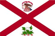 Alabama Governor Flag old Standard