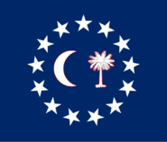 South Carolina State Flag Proposal No 17 Designed By Stephen Richard Barlow 16 OCT 2014 at 1122hrs cst