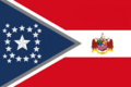Alabama State Flag Proposal New Stars and Bars Constellation (C) Designed By Stephen Richard Barlow 10 NOV 2014 at 1202 hrs cst.png