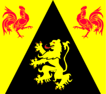 Flag of Walloon Brabant