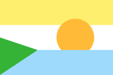 Proposal flag michigan scenery