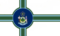 Maine State Flag Proposal No 14 Designed By Stephen Richard Barlow 27 OCT 2014 at 1507hrs cst
