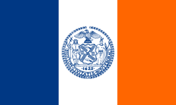 Current flag of New York City