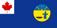 Nunavut flag proposal 1 (good quality)