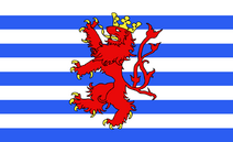 Flag of Luxembourg (Belgium)
