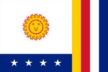 Flag of La Guaira State