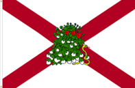 Alabama 'Touch Me Not' State Flag Proposal Designed By Stephen Richard Barlow 03 MAY 2015 at 1010 HRS CST.