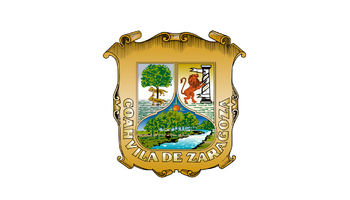 De facto flag of Coahuila